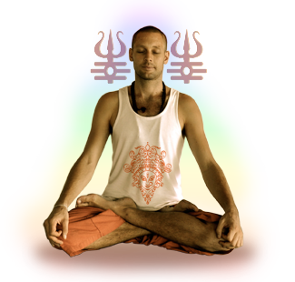 Your teacher Devamurti in Meditation